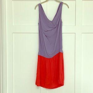 DVF Color loco mini dress